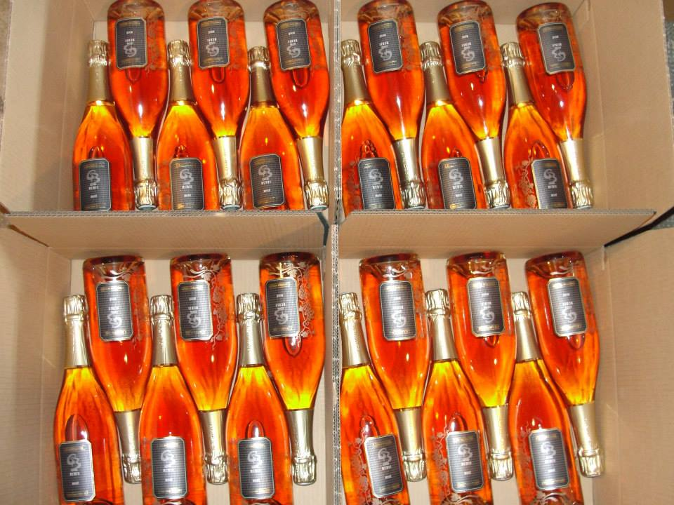 Cuvée Rubis in boxes