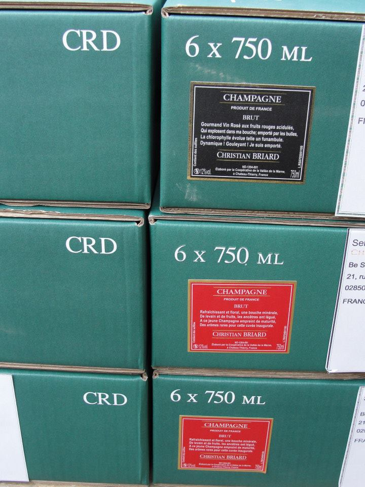 Individual box labeling