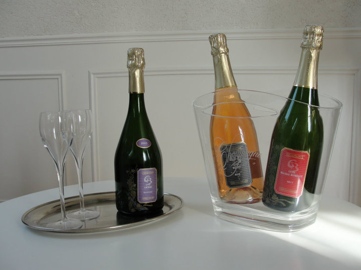 Champagnes in a comfortable corner