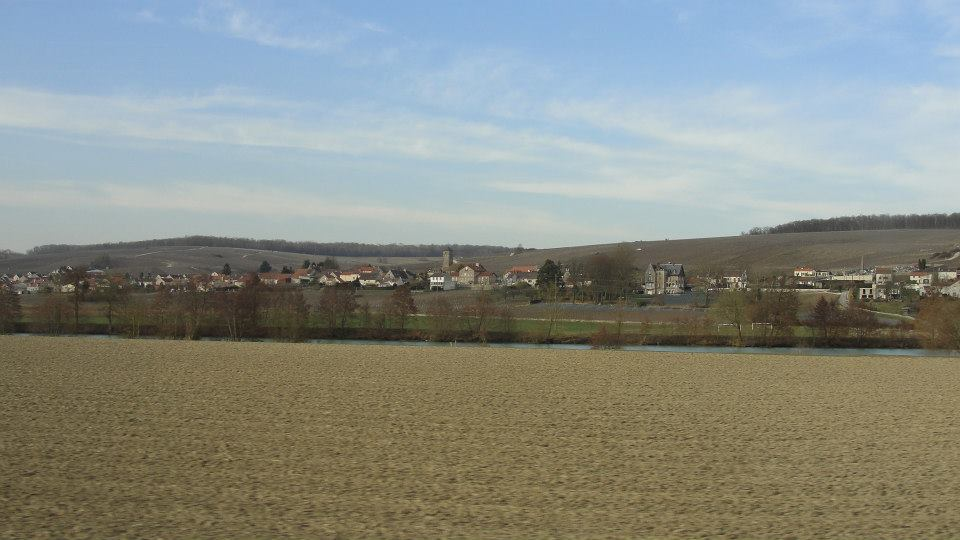 Panorama on Saulchery village